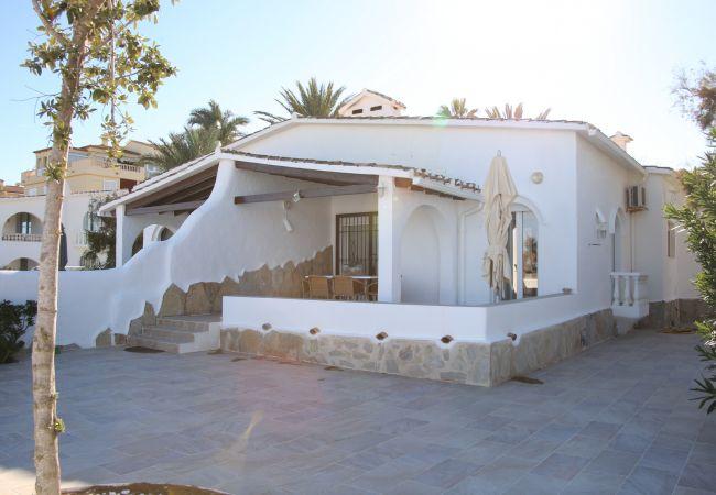 Villa en Denia - Villa 1ª Línea Playa EL SOL