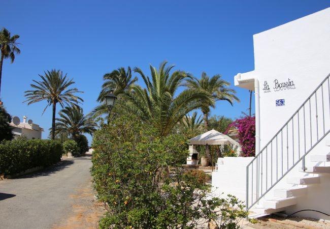 Villa en Denia - Villa 1ª Línea Playa LA BOVETA