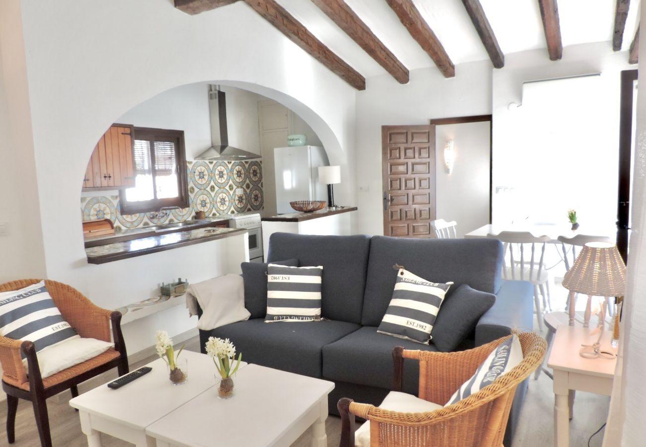 Villa en Denia - Villa EL DENTOL 1ª Línea Playa