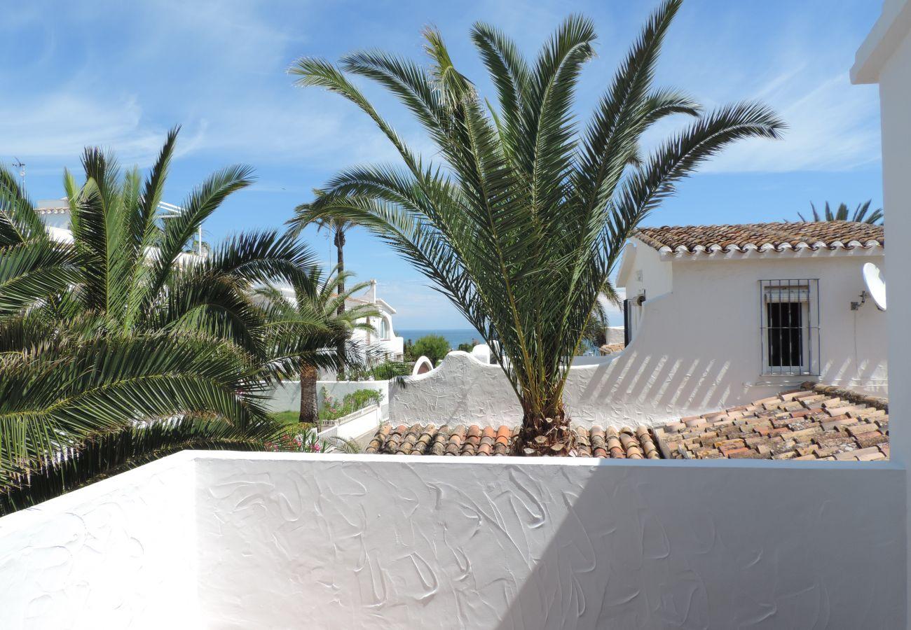 Villa en Denia - Villa EL BOQUERON 1ª Línea Playa