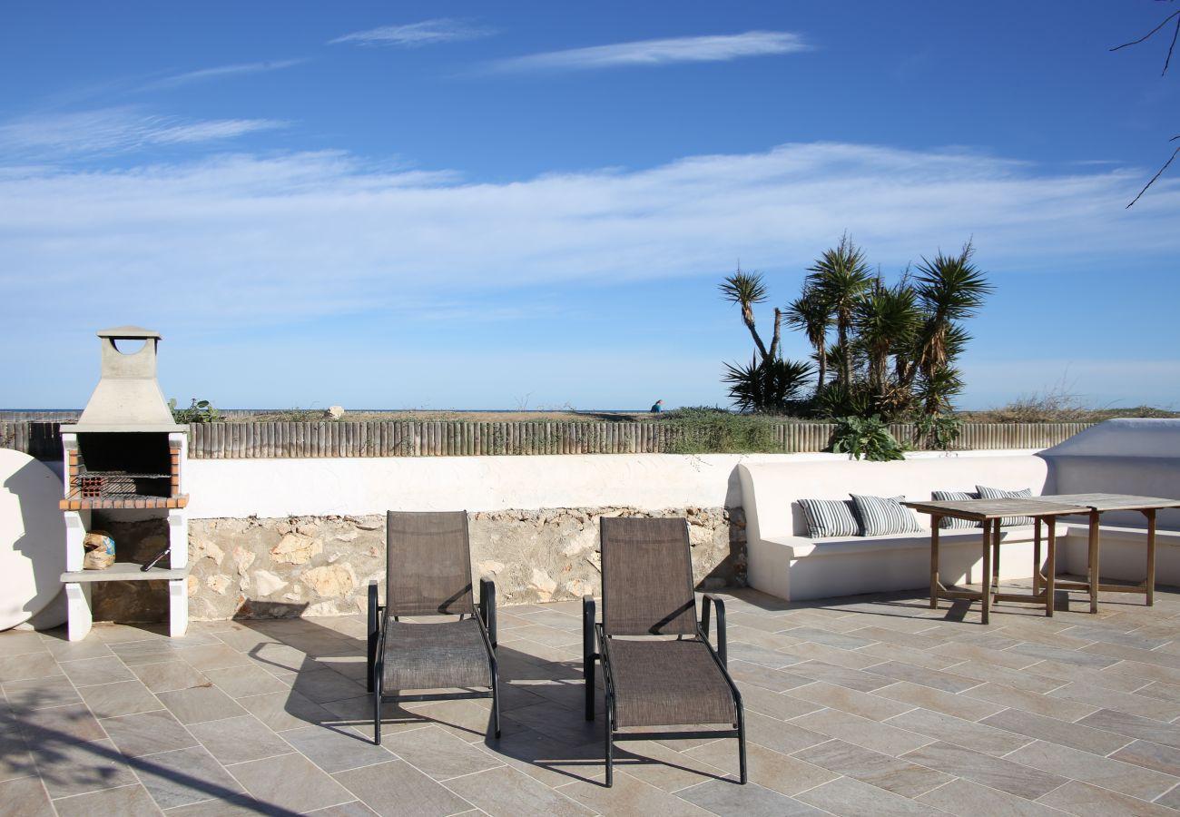 Villa en Denia - Villa EL SOL 1ª Línea Playa
