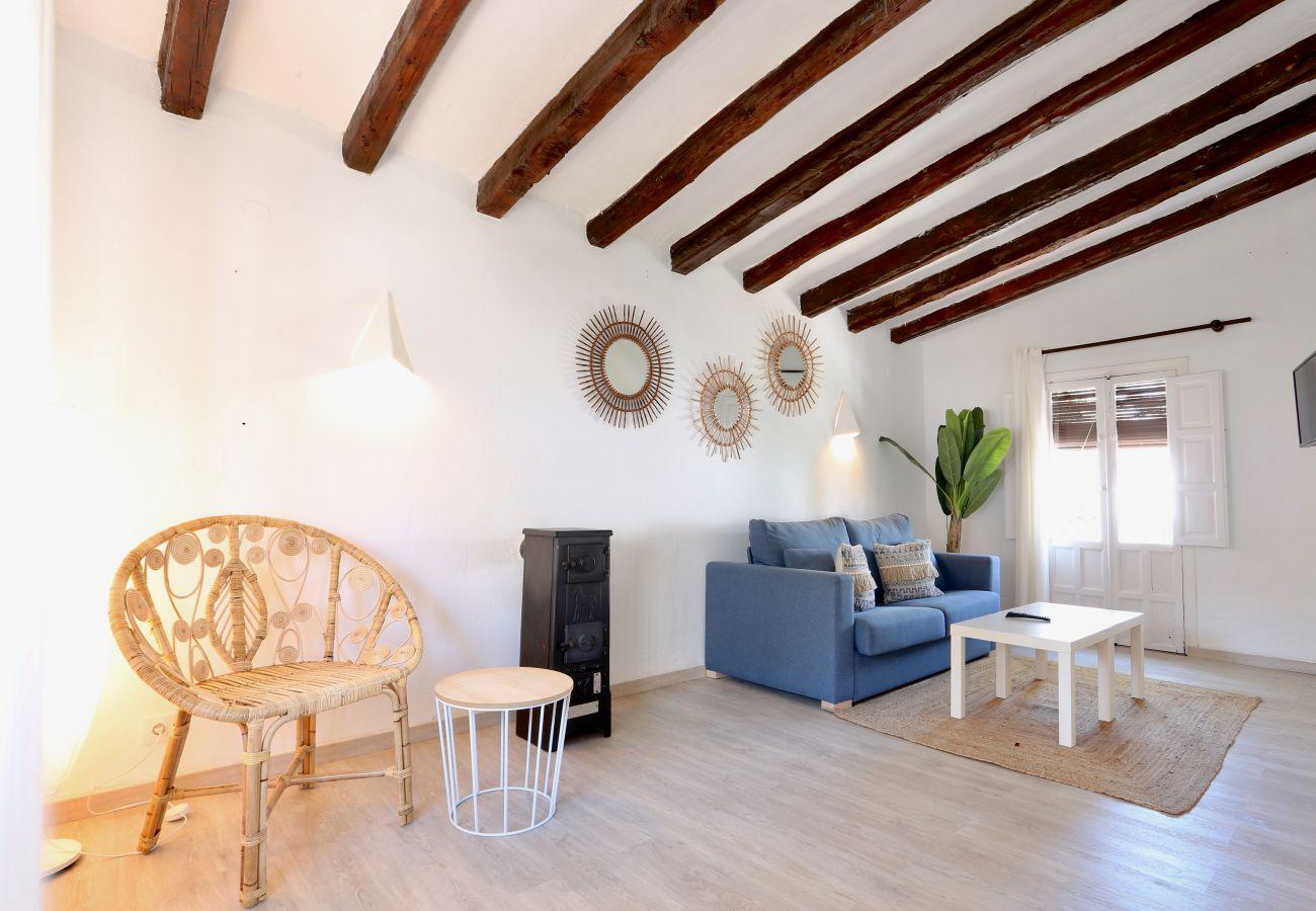 Villa en Denia - Villa LA LUBINA 1ª Línea Playa