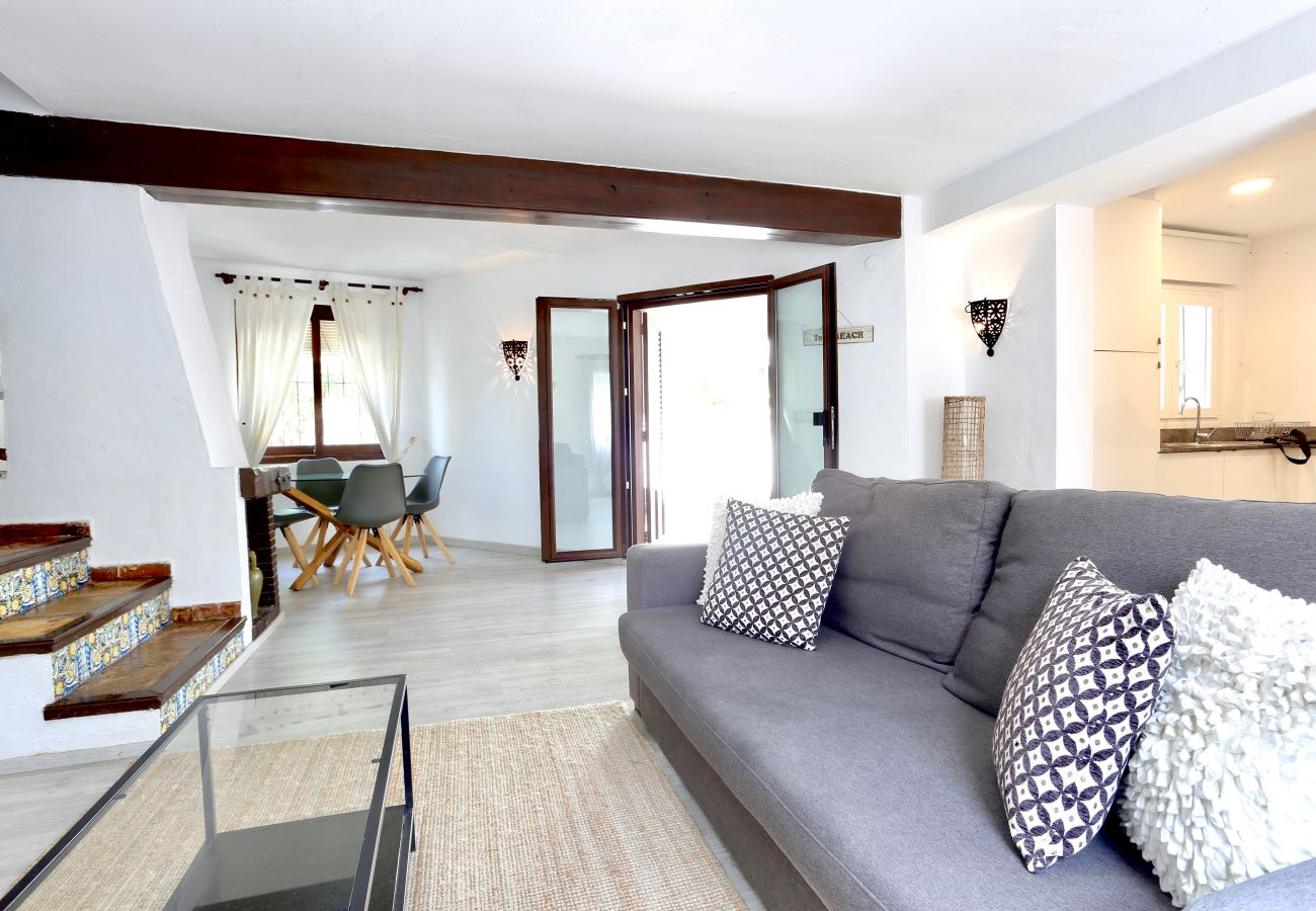 Villa en Denia - Villa LA RAYA 1ª Línea Playa