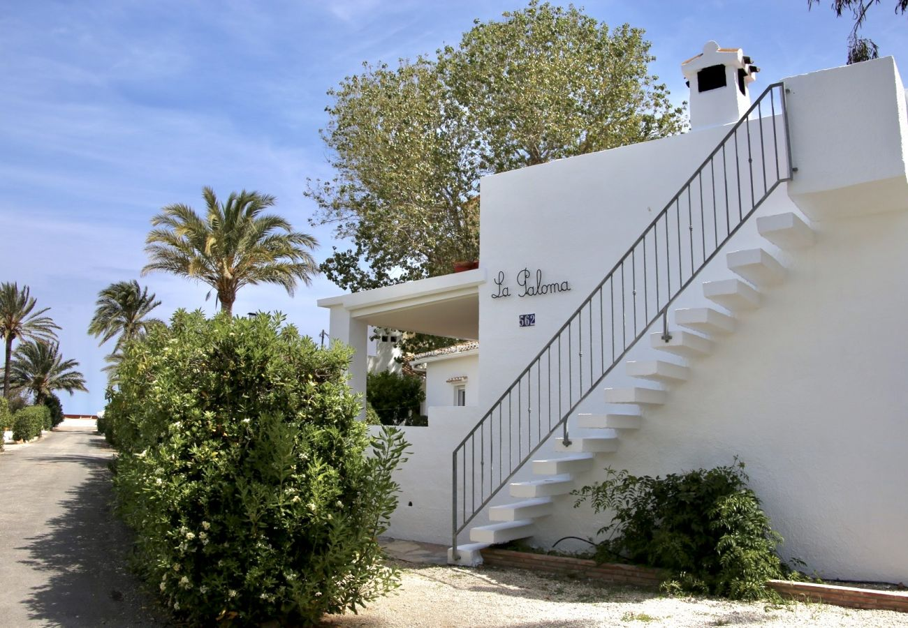 Villa en Denia - Villa LA PALOMA 1ª Línea Playa