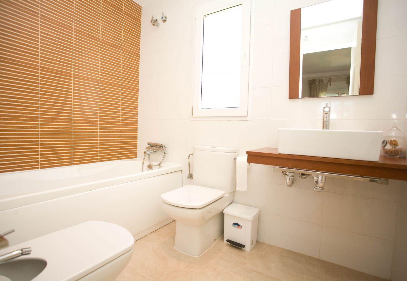 Apartamento en Denia - LES PORTELLES Nº57 1ª Línea Playa