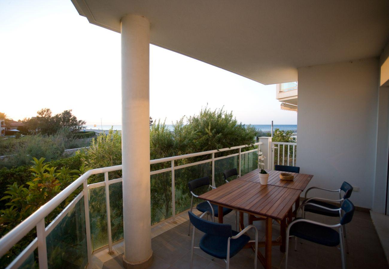 Apartamento en Denia - LES PORTELLES Nº63 1ª Línea Playa