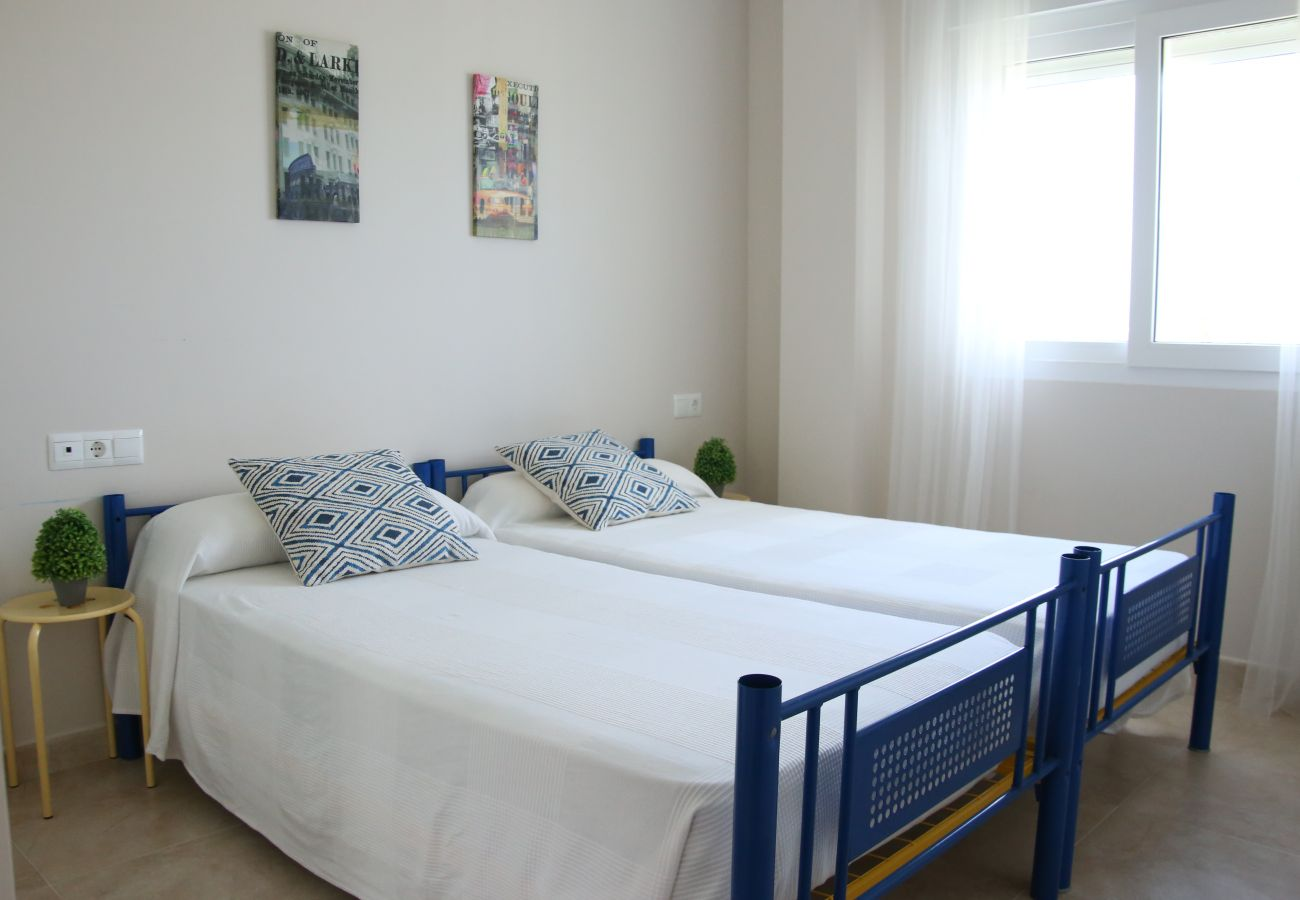 Apartamento en Denia - LES PORTELLES Nº 61 1ª Línea Playa ÁTICO