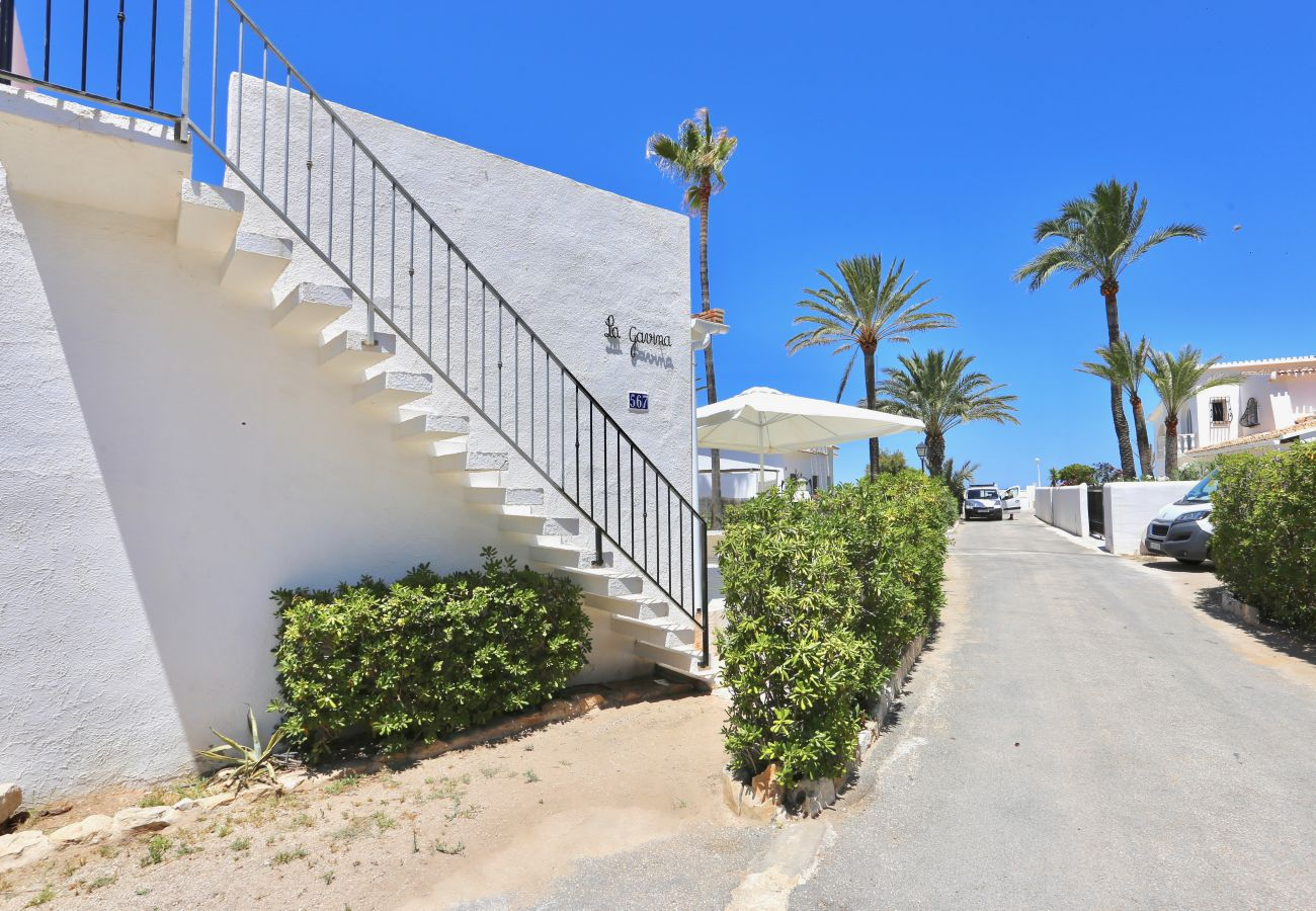 Villa en Denia - Villa LA GAVINA 1ª Línea Playa