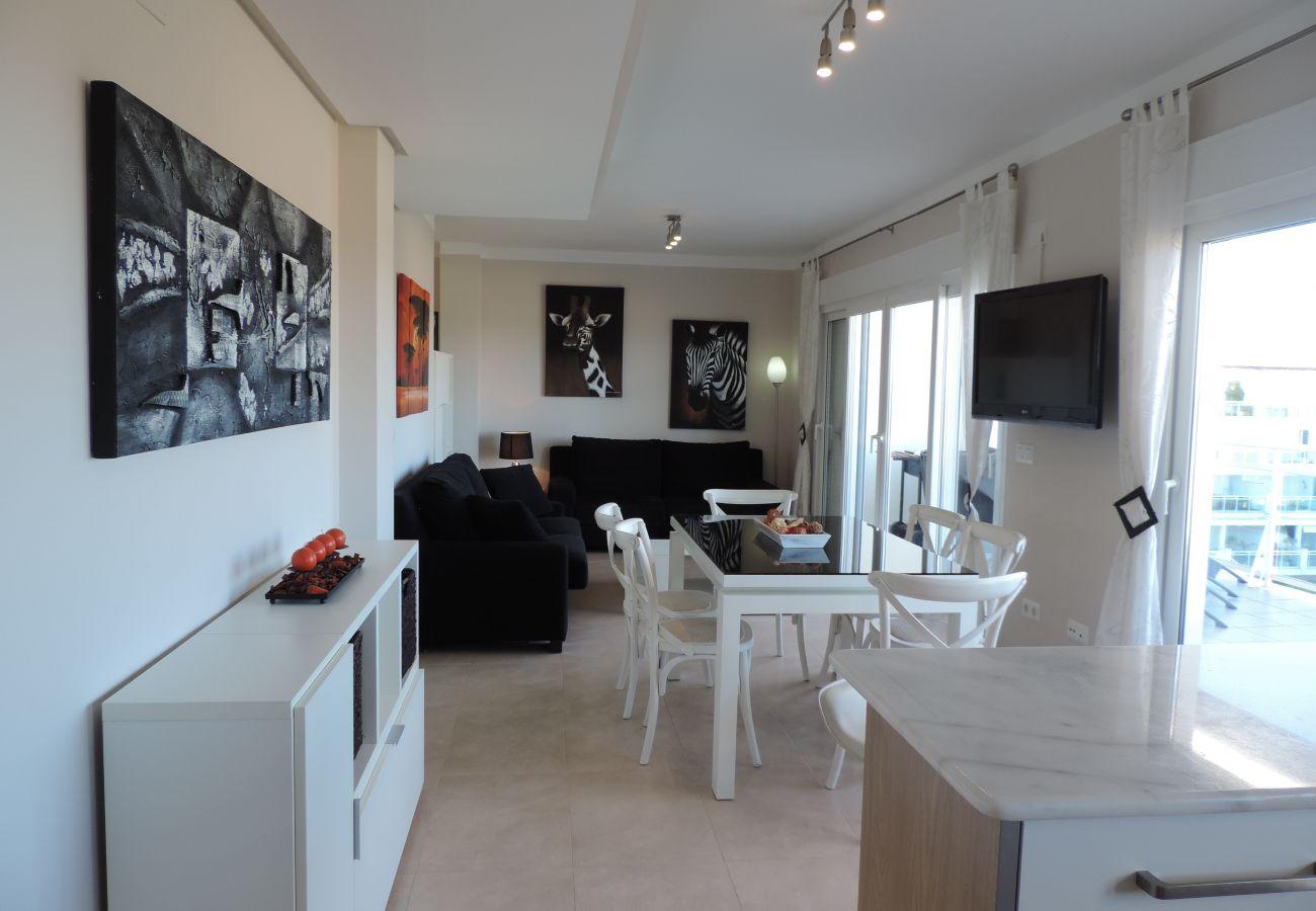 Apartamento en Denia - LES PORTELLES Nº49 1ª Línea Playa