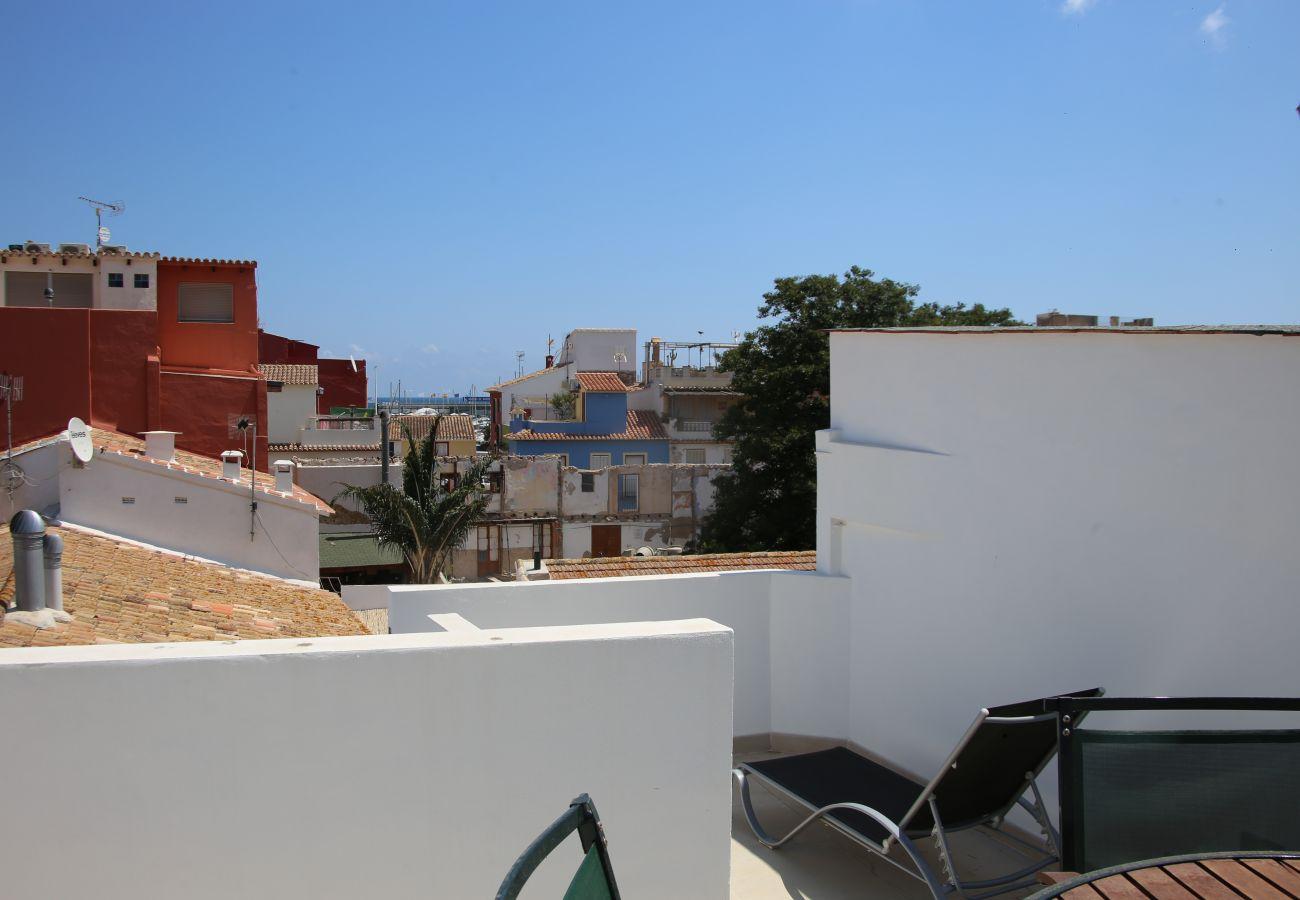 Estudio en Denia - Duplex en el Puerto