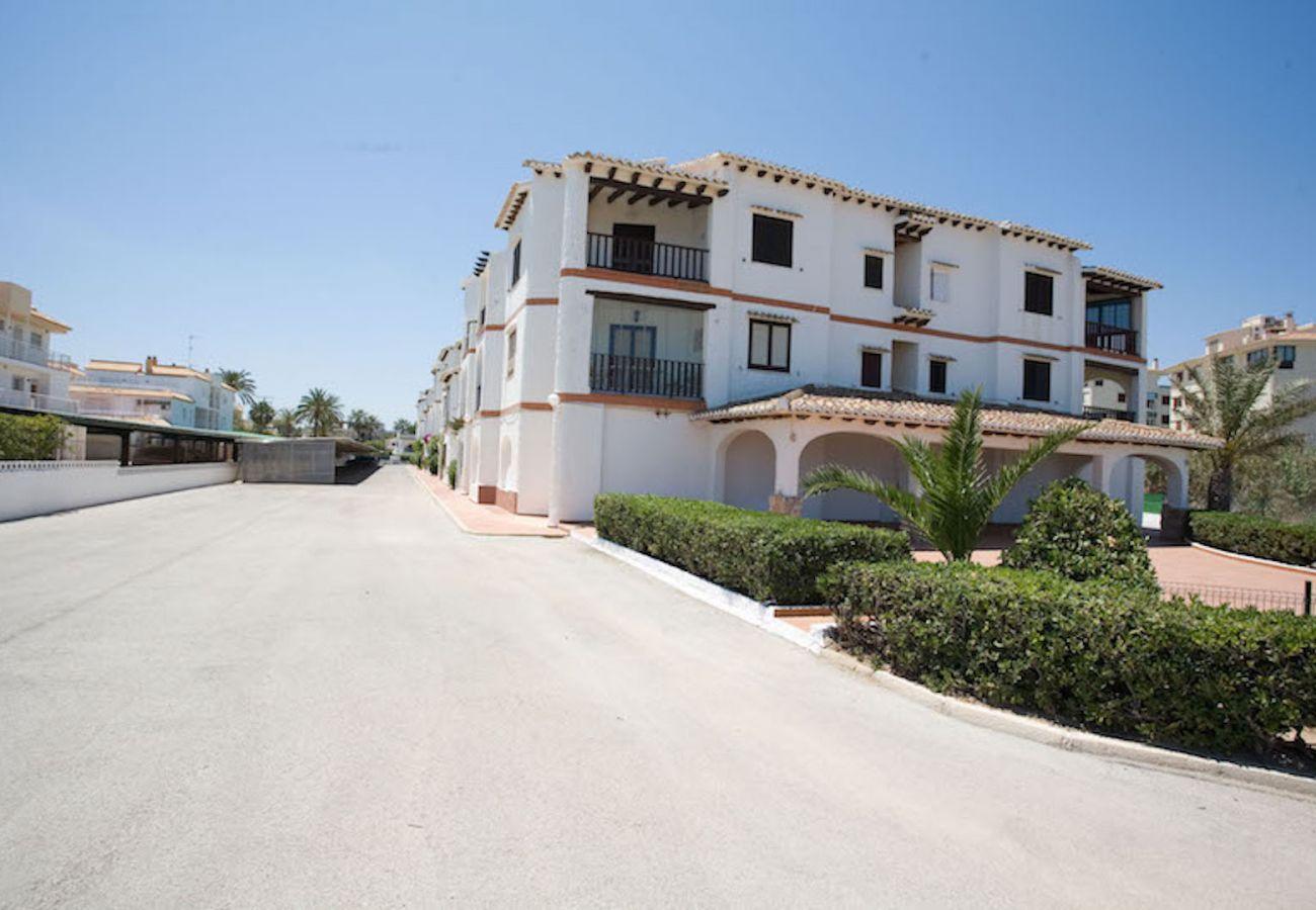 Apartamento en Denia - Los Alamos Nº7 1ª Línea de Playa