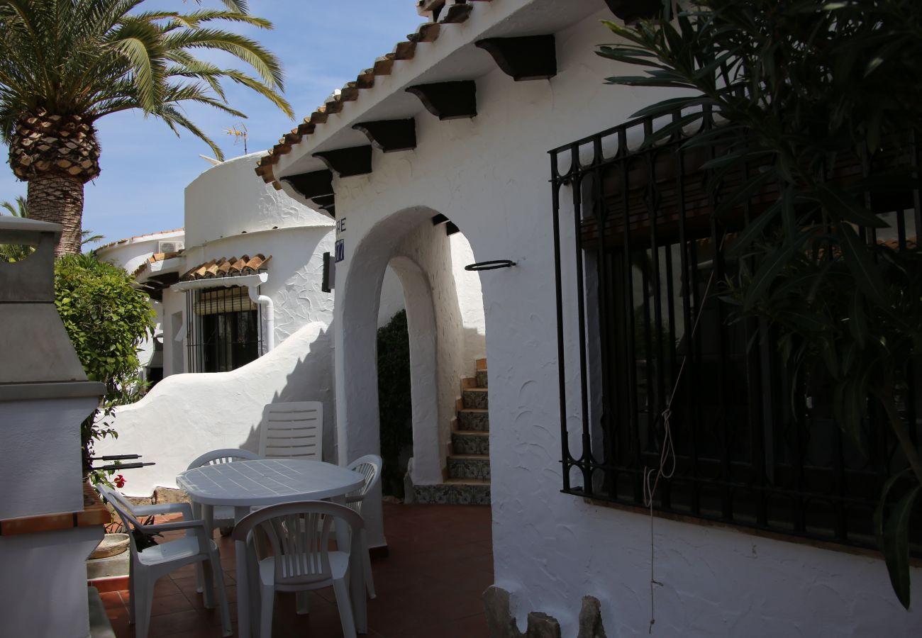Villa in Denia - Villa EL PAGRE 1ª Línea Playa