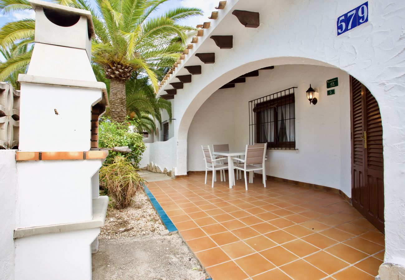 Villa in Denia - Villa LA CABALLA 1ª Línea Playa