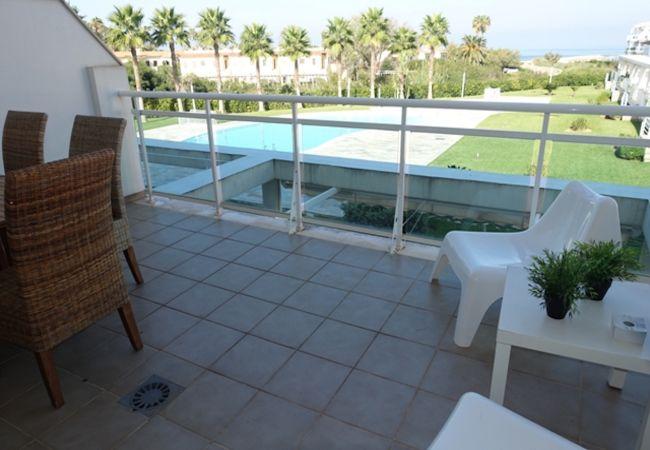 Ferienwohnung in Denia - LES PORTELLES 1ª Línea Playa Nº24
