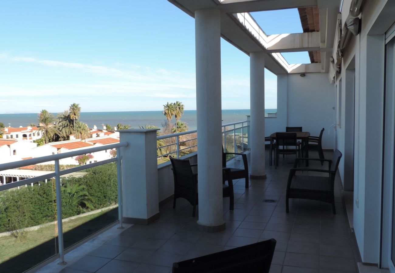 Ferienwohnung in Denia - LES PORTELLES Nº49 1ª Línea Playa