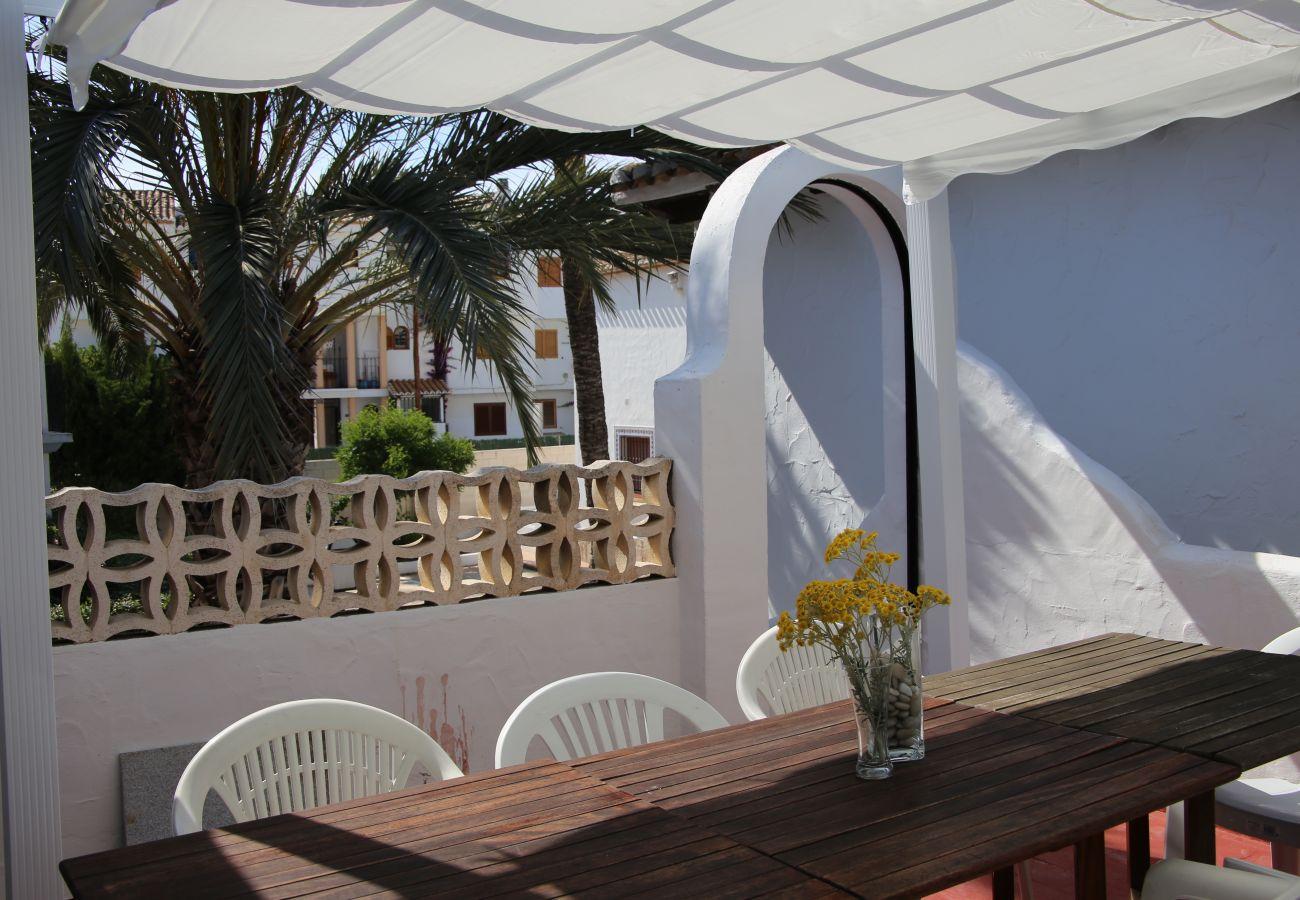 Villa in Denia - Villa EL MERO 1ª Línea Playa