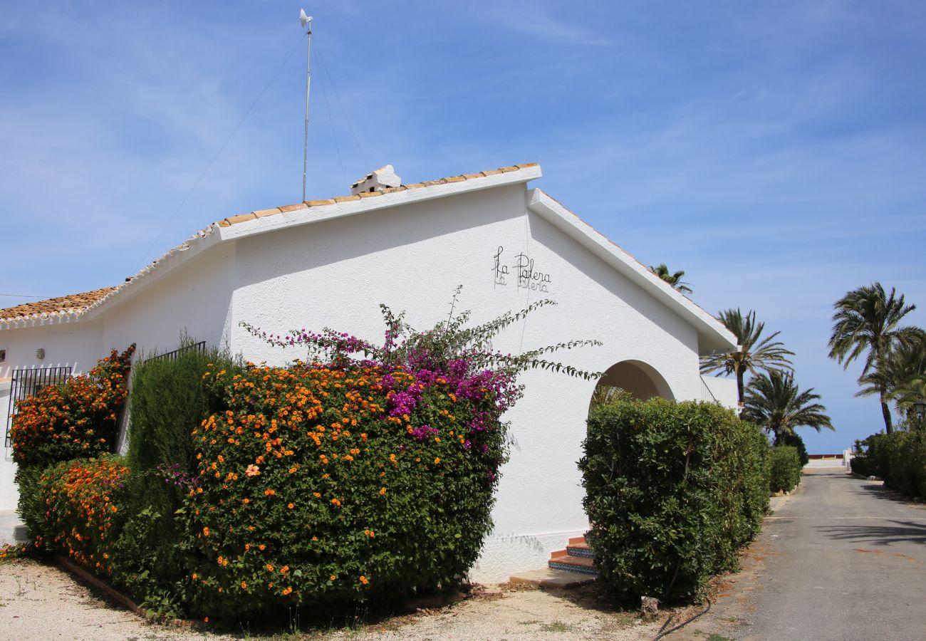 Villa in Denia - Villa LA PALERA 1ª Línea Playa