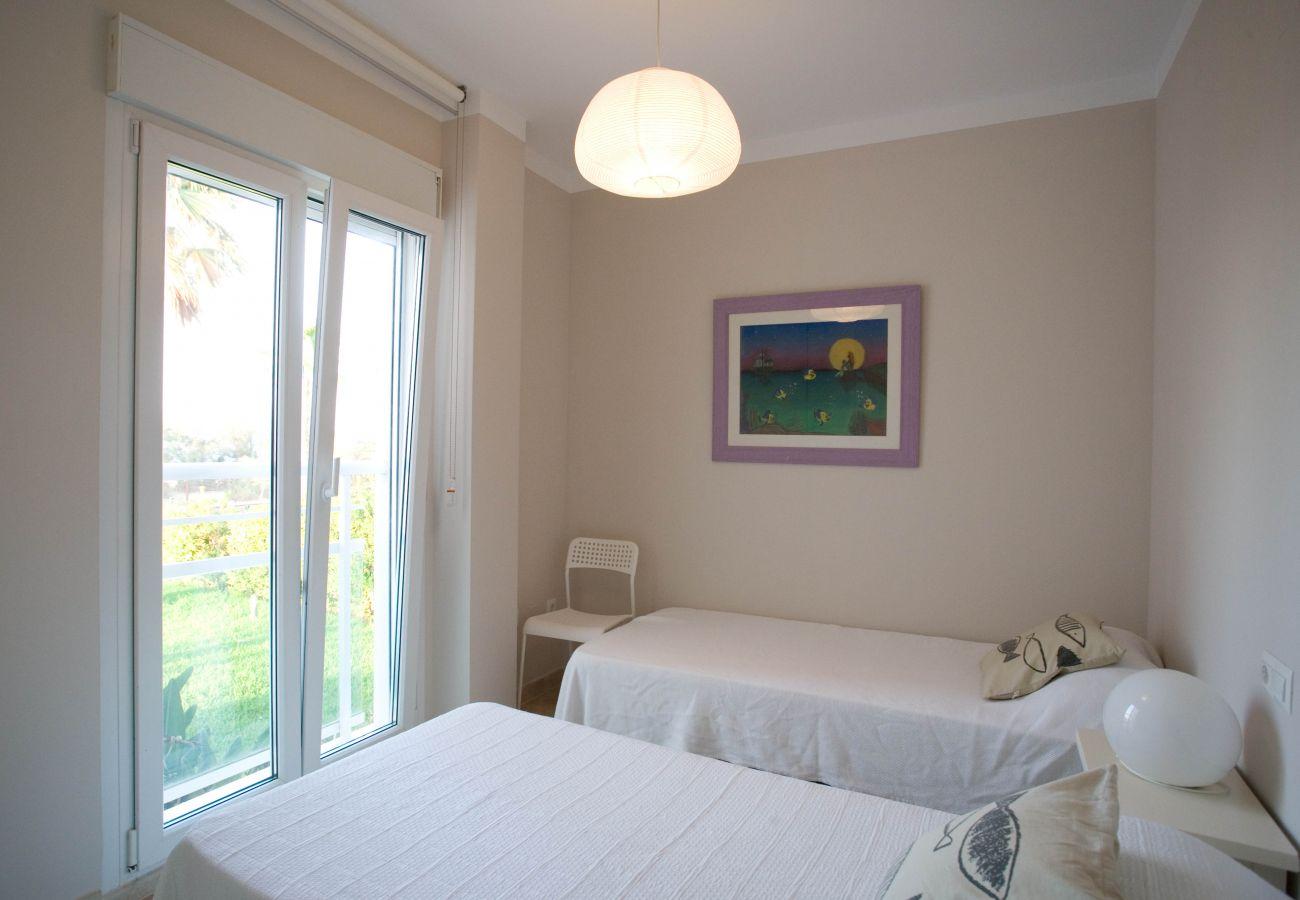 Apartment in Denia - LES PORTELLES Nº64 1ª Línea Playa