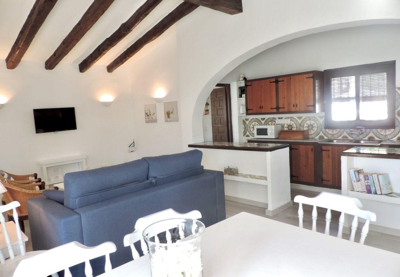 Villa à Denia - Villa EL DENTOL 1ª Línea Playa