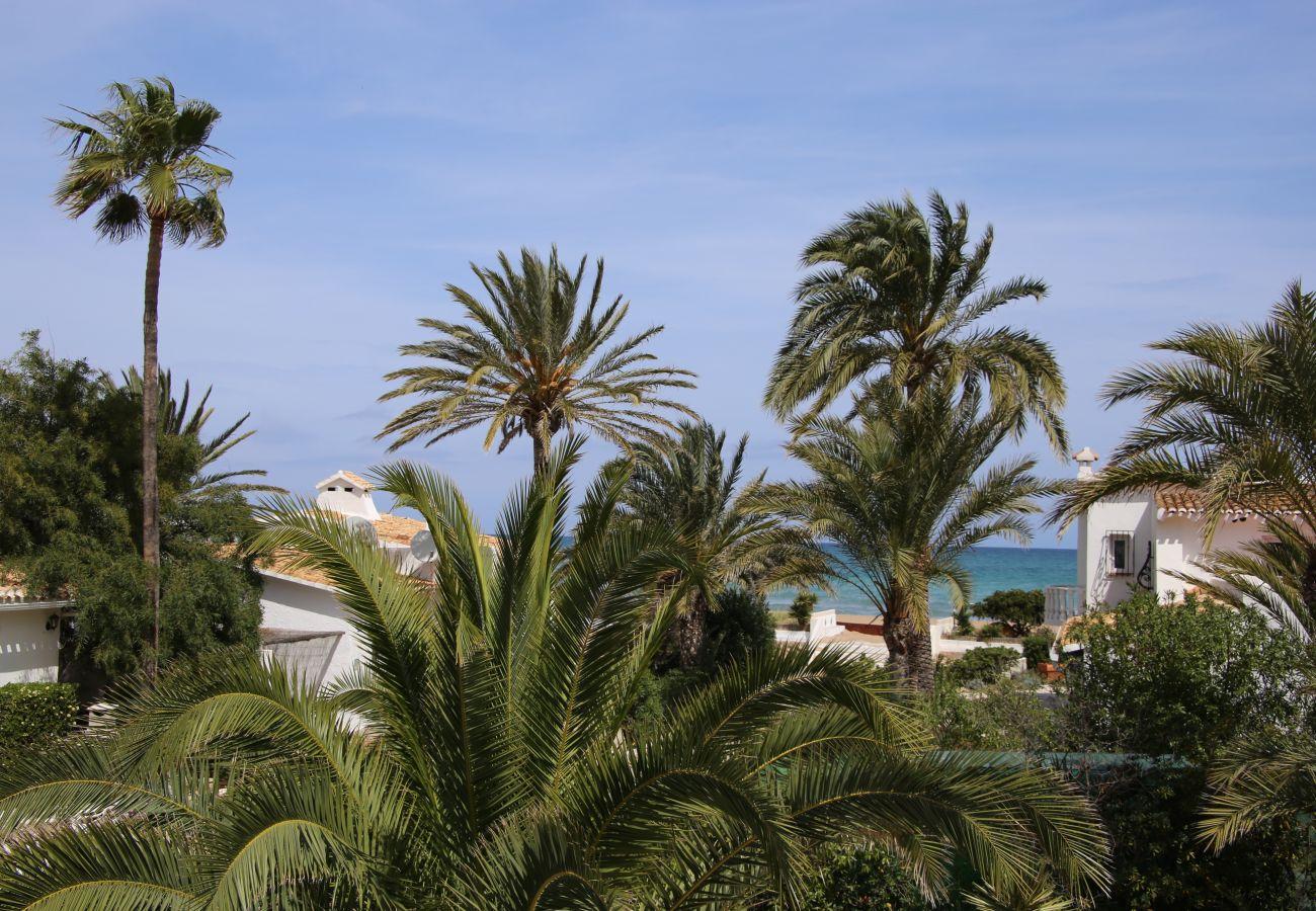 Villa à Denia - Villa EL PAGRE 1ª Línea Playa