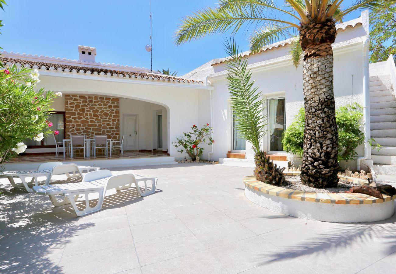 Villa à Denia - Villa LA PALERA 1ª Línea Playa