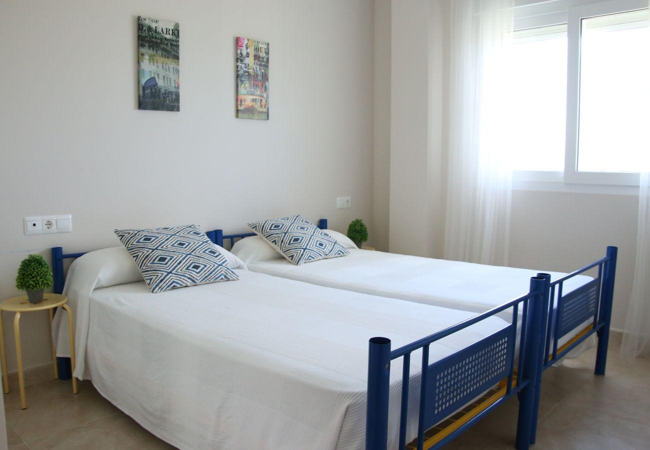 Appartement à Denia - LES PORTELLES Nº 61 1ª Línea Playa ÁTICO