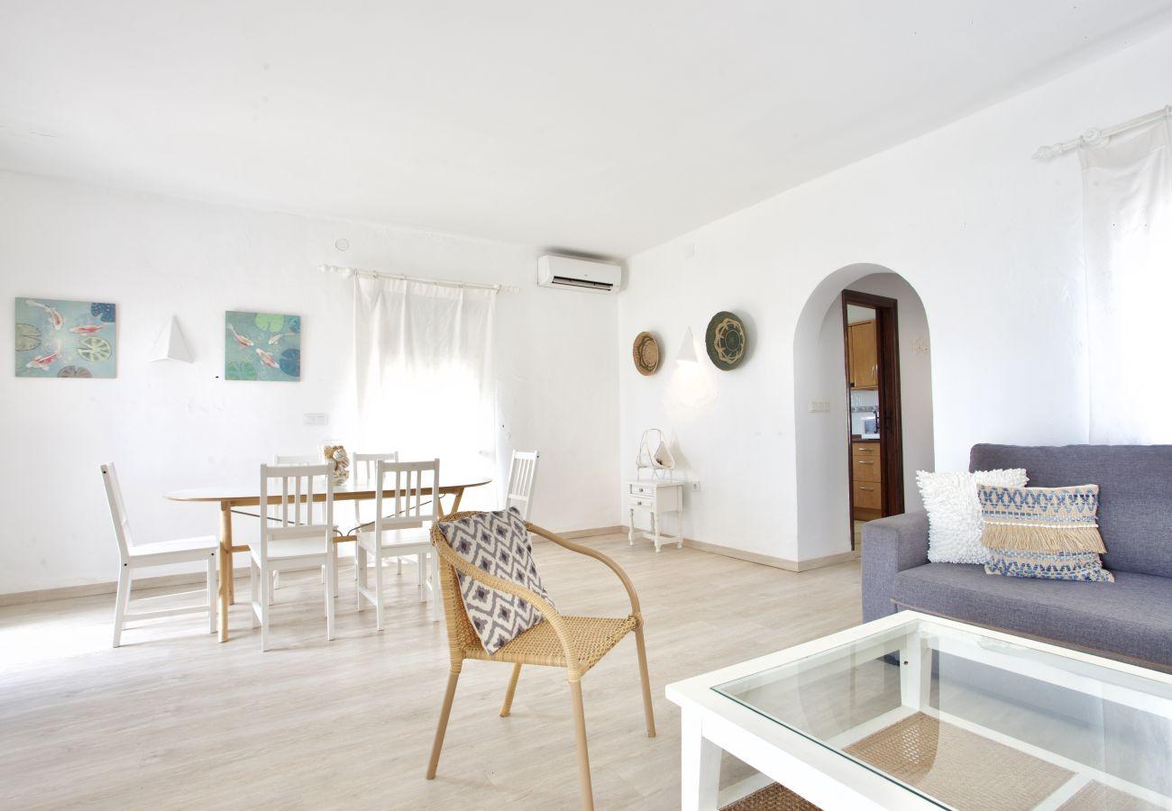 Villa à Denia - Villa LA LUNA 1ª Línea Playa